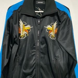Diesel Embroidered Jacket - Rare